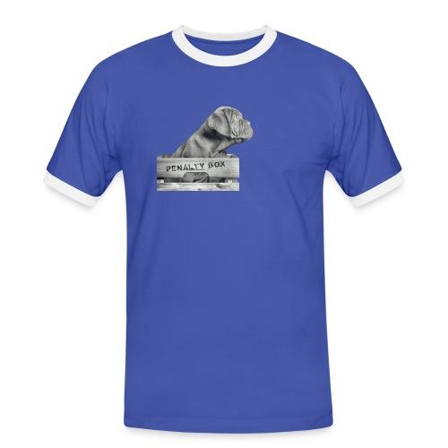 Penalty Box - Herre kontrast-T-shirt