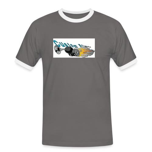 trompettecb - T-shirt contrasté Homme