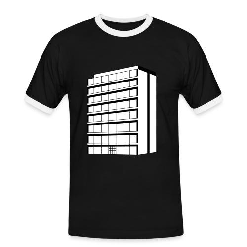 haus1 - Männer Kontrast-T-Shirt