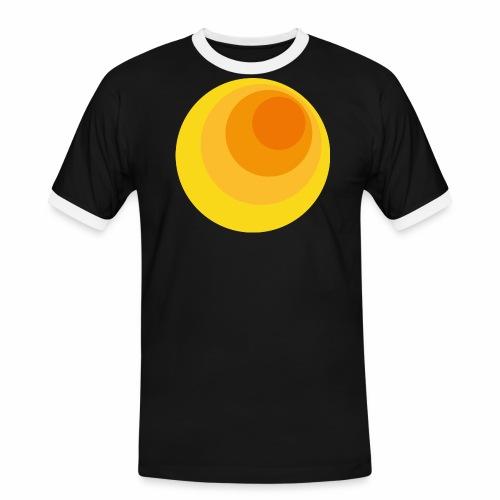 70er Kreise - Männer Kontrast-T-Shirt