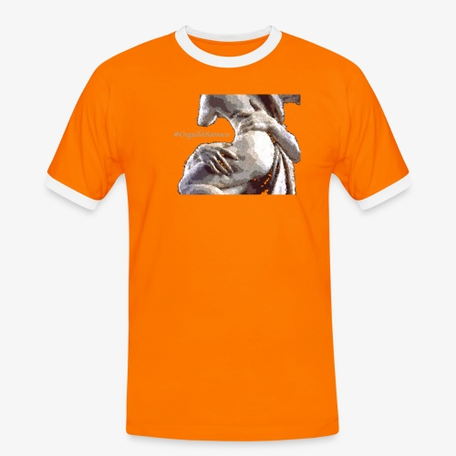 #OrgulloBarroco Rapto difuminado - Camiseta contraste hombre