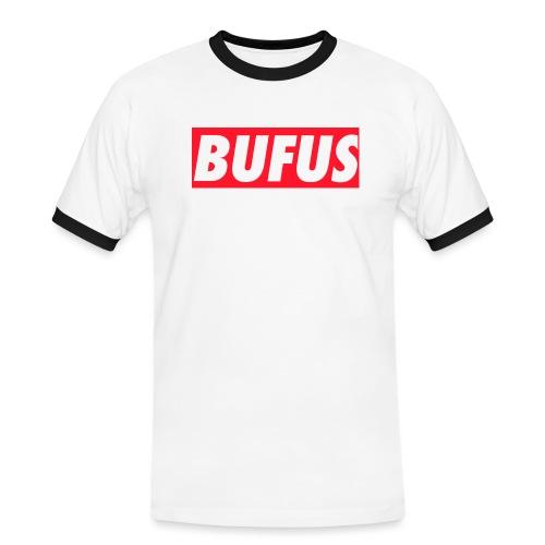 BUFUS - Maglietta Contrast da uomo