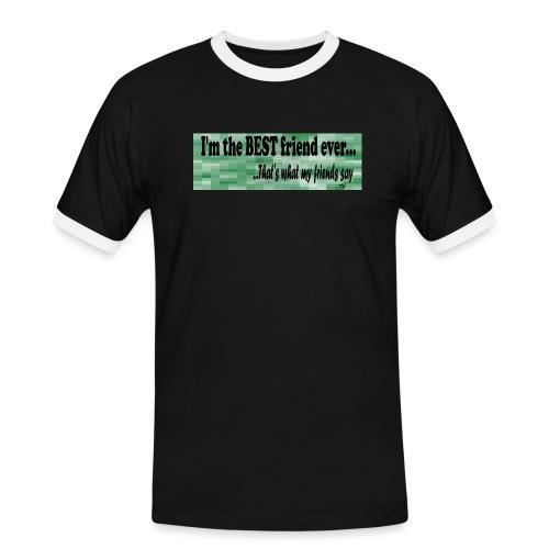 MOOD PHRASES - Camiseta contraste hombre
