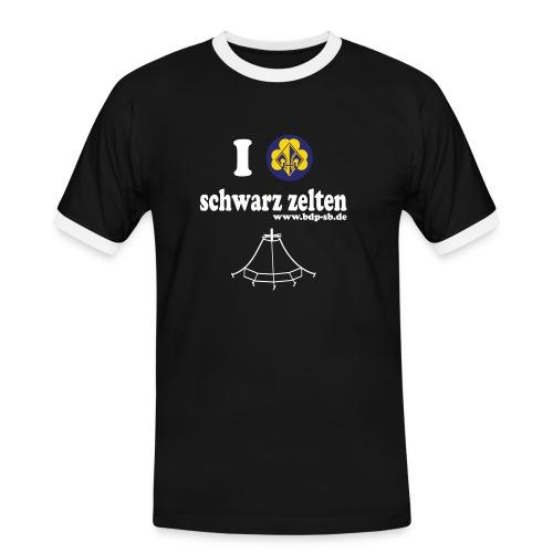 zelt - Männer Kontrast-T-Shirt