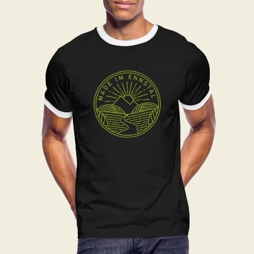 Made im Ennstal, grün - Männer Kontrast-T-Shirt