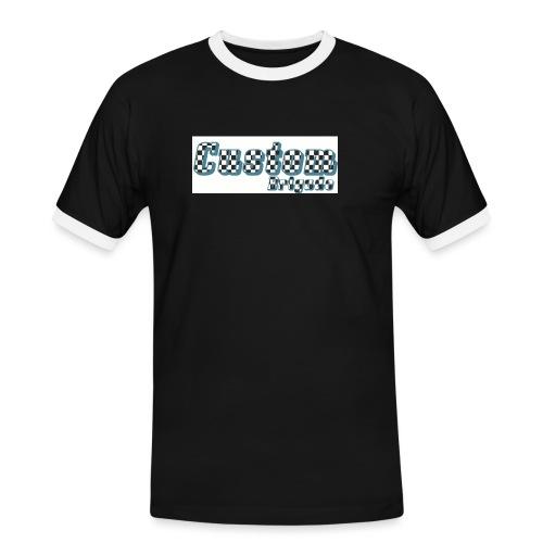 damiercb - T-shirt contrasté Homme