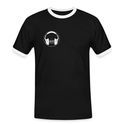 TonTreiber Logo - Männer Kontrast-T-Shirt