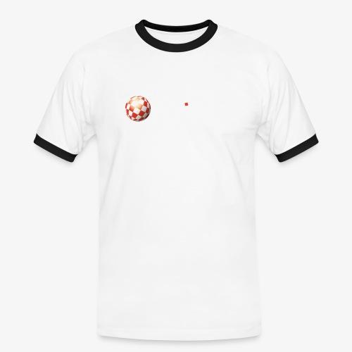 PoweredByAmigaOS white - Men's Ringer Shirt