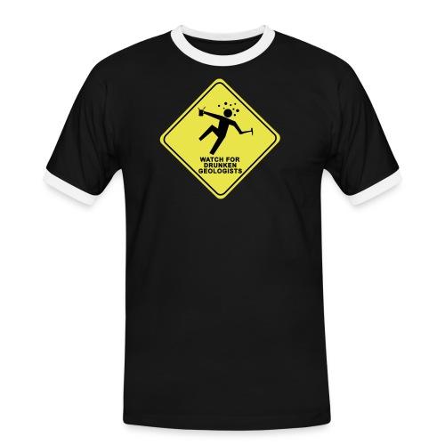 watch for drunken geologists english l - T-shirt contrasté Homme