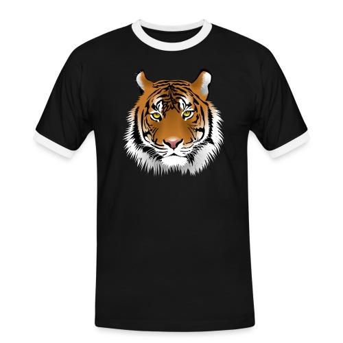 tiger numero 1 - Camiseta contraste hombre