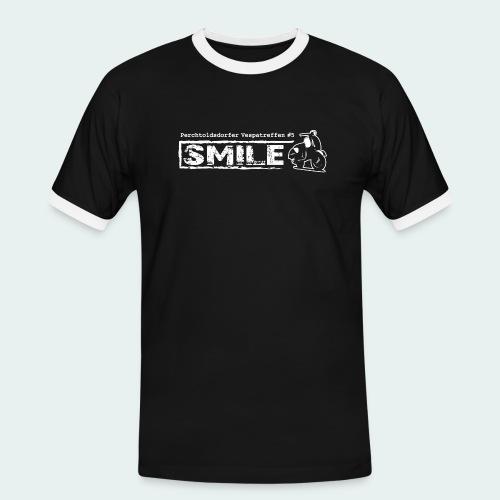 Offizielles SMILE-Shirt 2018 - Männer Kontrast-T-Shirt