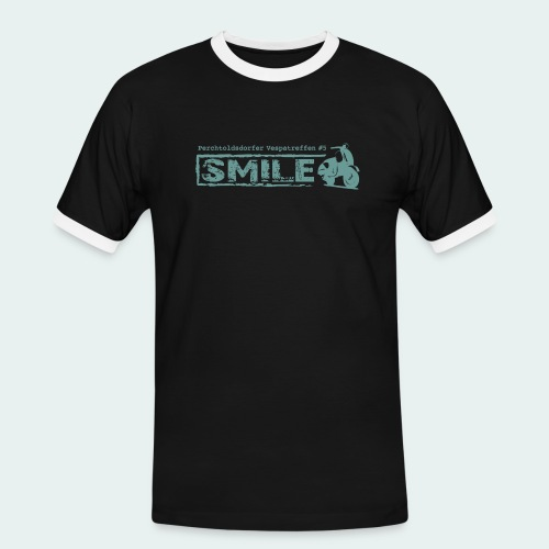 SMILE-Shirt 2018 - Männer Kontrast-T-Shirt