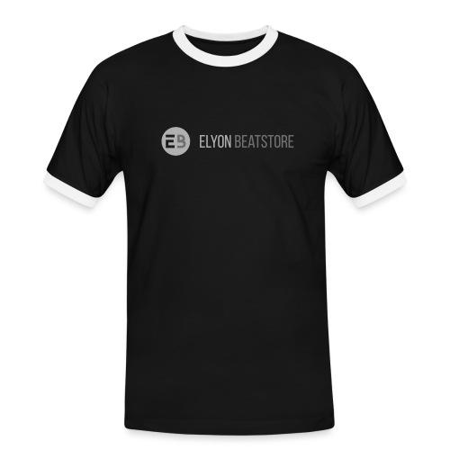 ElyonBeatstore Logo - Mannen contrastshirt
