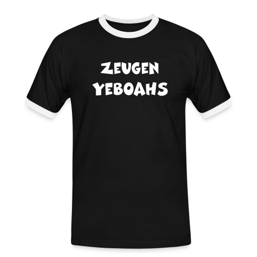 Zeugen Yeboahs - Männer Kontrast-T-Shirt