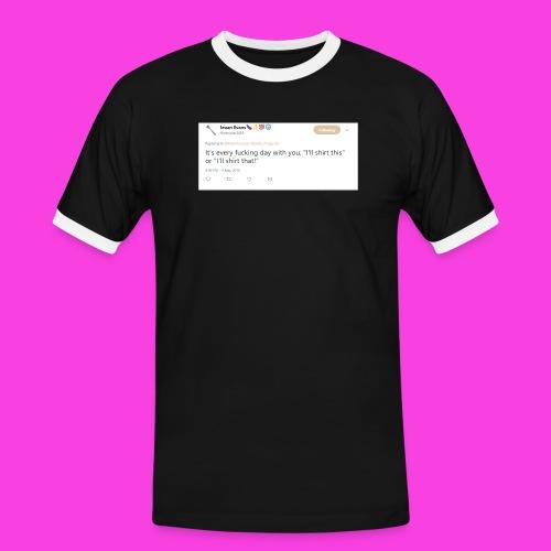 Ieuan Tweet - Men's Ringer Shirt