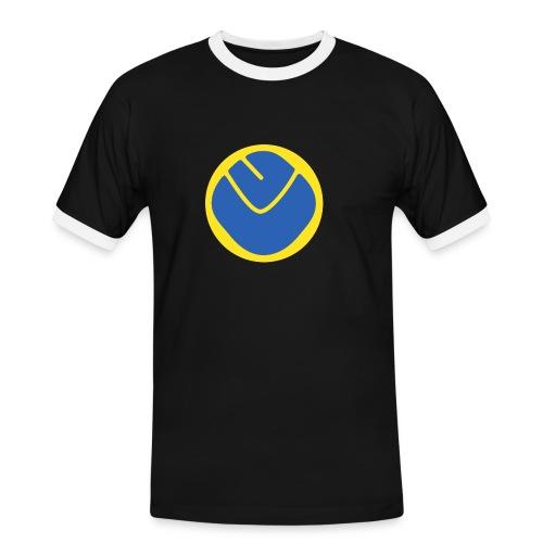 smiley invesrse - Men's Ringer Shirt