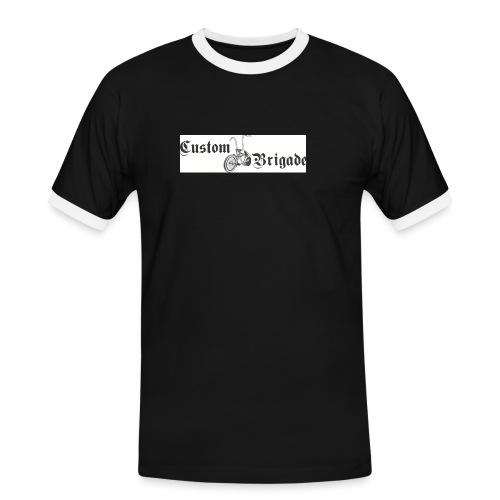 velo03 - T-shirt contrasté Homme