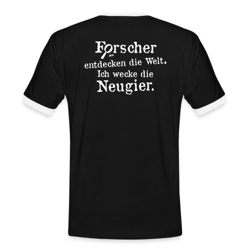 Motiv Basti Gestalte Zukunft werde Erzieher - Männer Kontrast-T-Shirt