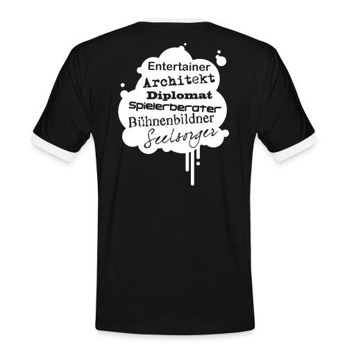 Motiv Architekt Sei alles werde Erzieher - Männer Kontrast-T-Shirt
