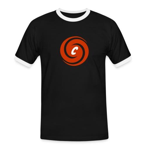 Logo Cinnox - Männer Kontrast-T-Shirt
