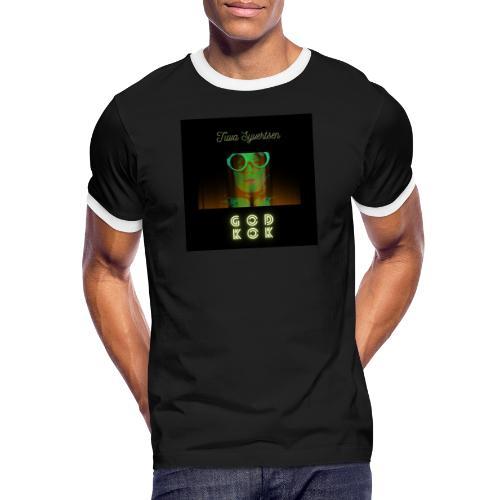 Tuva Syvertsen God Kok Design - Kontrast-T-skjorte for menn