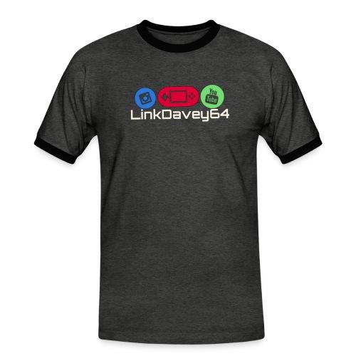 LinkDavey64 - Mannen contrastshirt