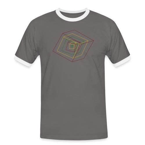 Rasta Cubes - T-shirt contrasté Homme