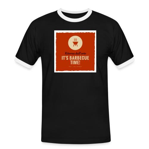 Solo una cosa può farti tornare dall'orto... - Maglietta Contrast da uomo