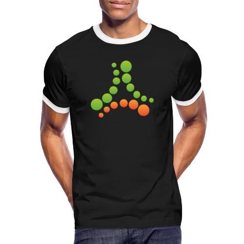 logotipo - Maglietta Contrast da uomo