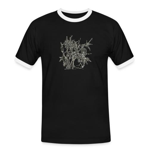 bambou4 GIF - T-shirt contrasté Homme