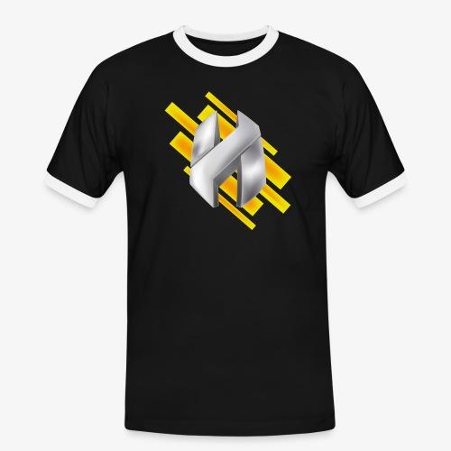 Abstract Yellow - Men's Ringer Shirt
