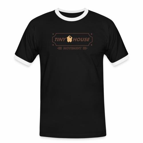 TinyHouse - Männer Kontrast-T-Shirt
