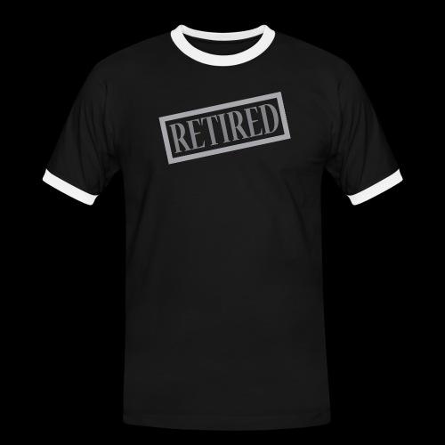 Retired - Camiseta contraste hombre