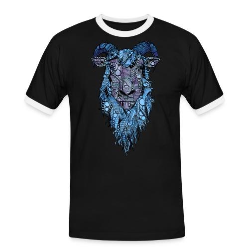 Sau - Kontrast-T-skjorte for menn