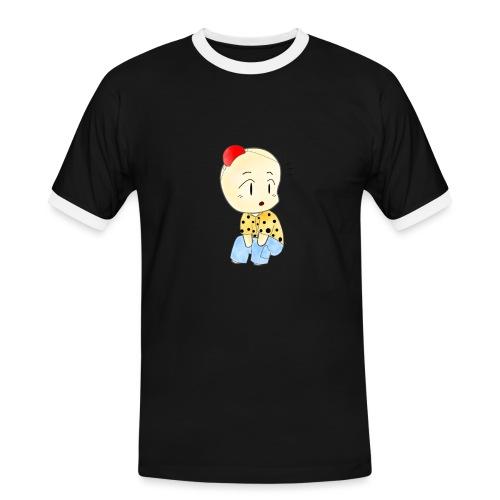 CLOWN RUNDO - Maglietta Contrast da uomo