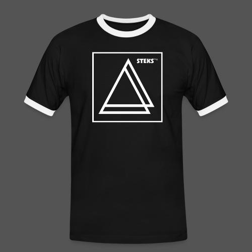 STEKS™ - Mannen contrastshirt