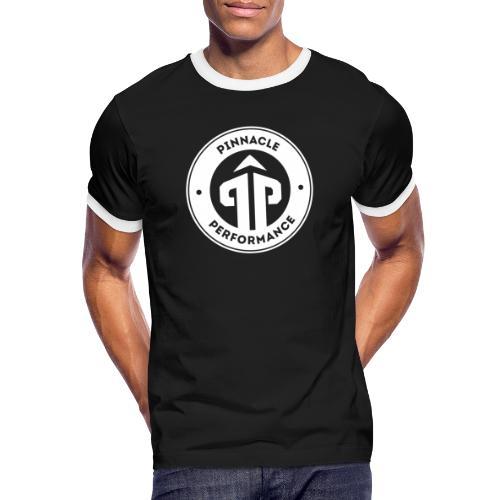 Pinnacle Performance Apparel (White Logo) - Men's Ringer Shirt