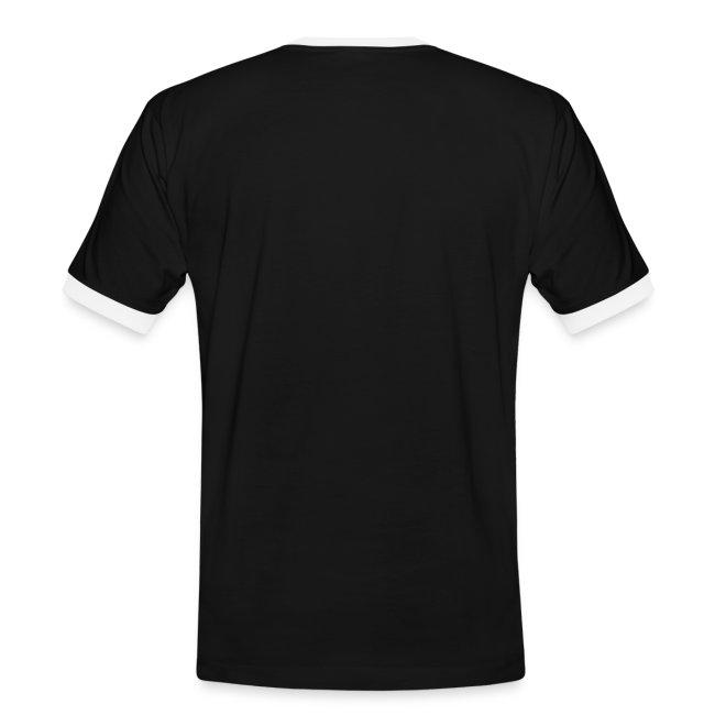 Vorschau: Vorsicht vor dem Reiter - Männer Kontrast-T-Shirt