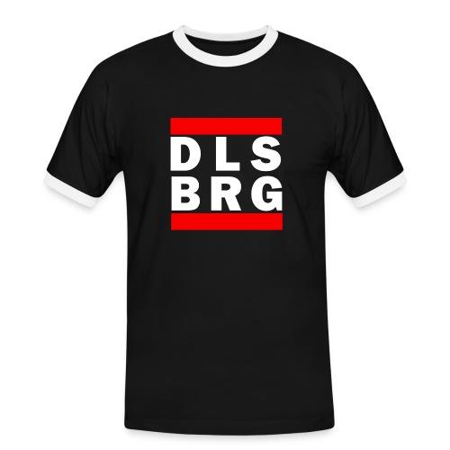 DLSBRG transparent weiss png - Männer Kontrast-T-Shirt