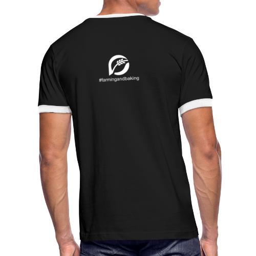farningandbaking onlywhite - Männer Kontrast-T-Shirt