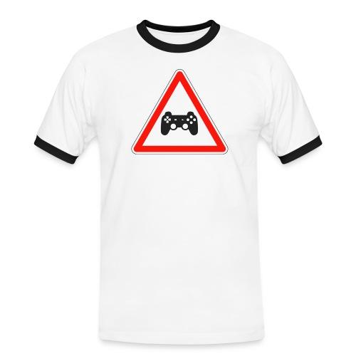 cedezaujeux - T-shirt contrasté Homme