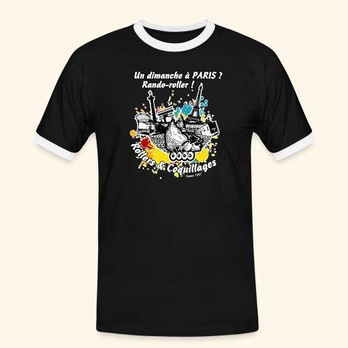 Splash - T-shirt contrasté Homme