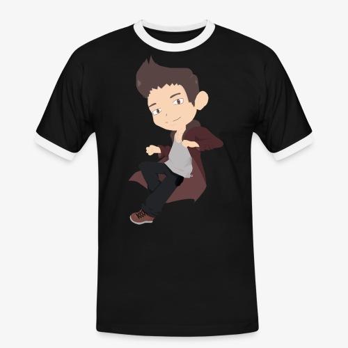 Basique - T-shirt contrasté Homme
