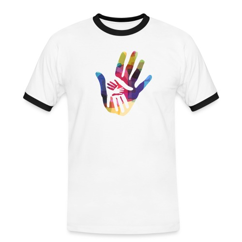 logo_storien - Kontrast-T-skjorte for menn