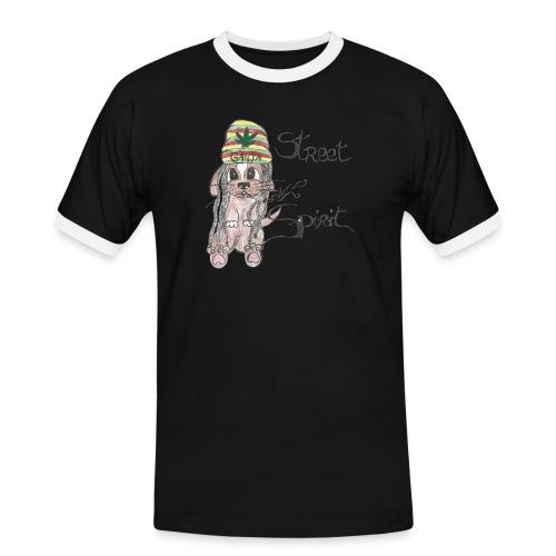 ganjac png - T-shirt contrasté Homme