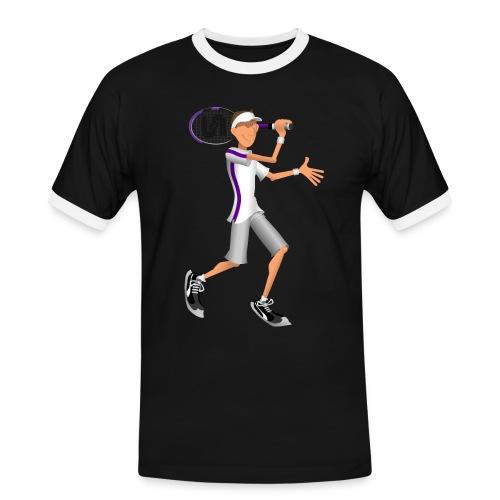 Tennis Sticky - Men's Ringer Shirt