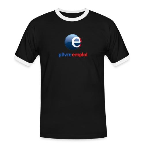 Povre emploi - T-shirt contrasté Homme