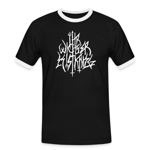 Black Metal ist Krieg - Männer Kontrast-T-Shirt