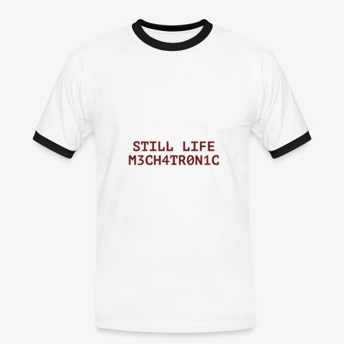 Still Life - Kontrast-T-shirt herr