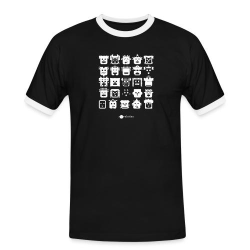 DIVERSE PEOPLE - Camiseta contraste hombre